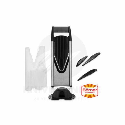 Borner Slicer V6 Starter Set - Black SS