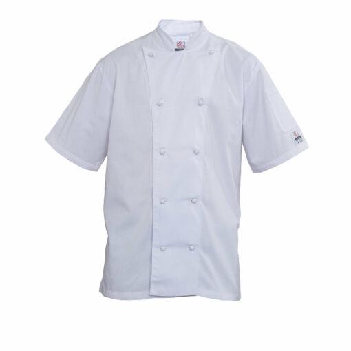 Chef Coat Short Sleeve White