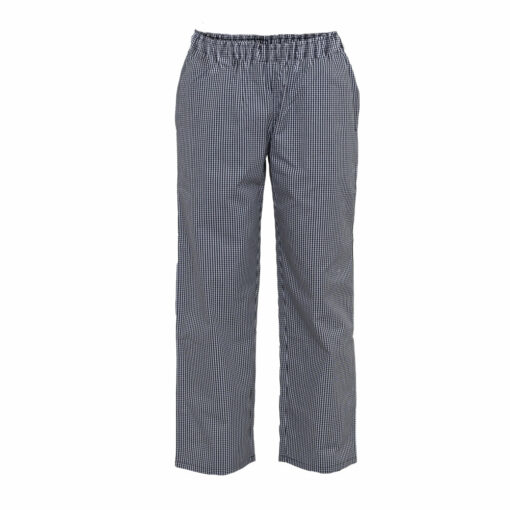 Gourmet Wear Drawstring Pants Small Check