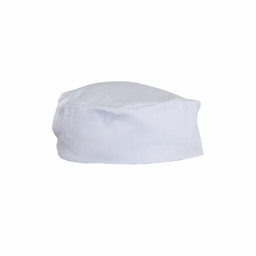 BD0025004 - White Flat Top Hat Size M