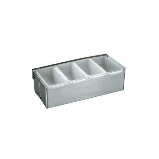 Condiment Dispenser 4 Compartment