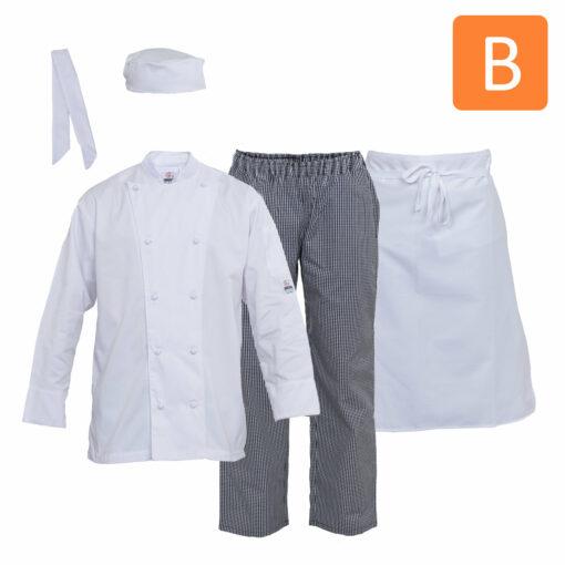 Chef Uniform Package B
