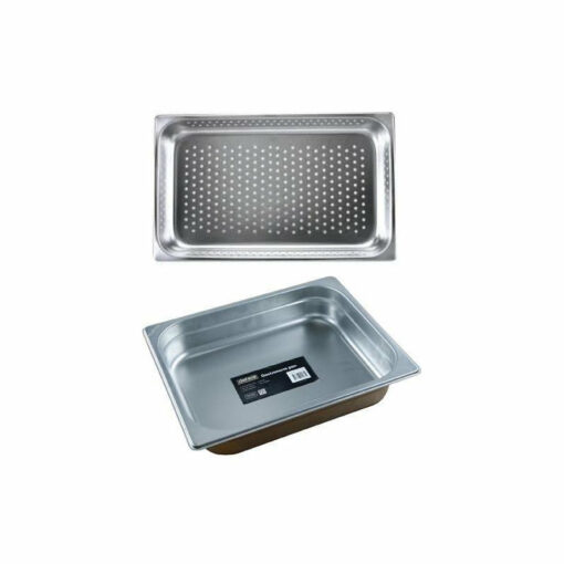Chef Inox Gastronorm Trays 1/2 Stainless Steel 18/10 Heavy Duty