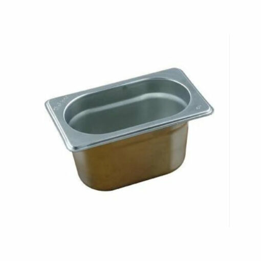 Chef Inox Gastronorm Trays 1/9 Stainless Steel 18/10 Heavy Duty