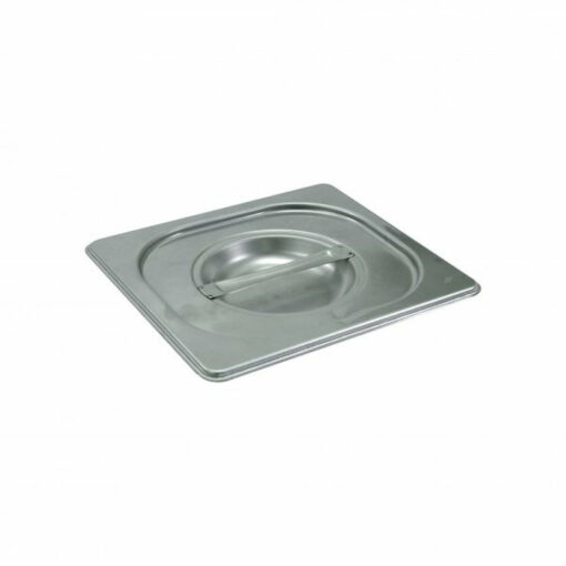 Chef Inox Gastronorm Tray Lid 1/6 Stainless Steel 18/10 Heavy Duty