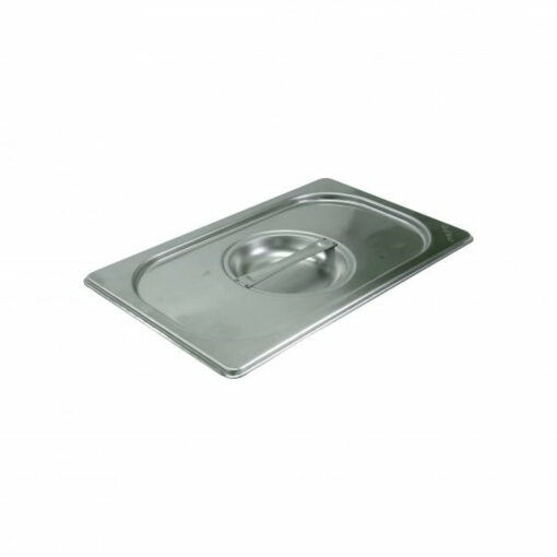 Chef Inox Gastronorm Tray Lid 1/4 Stainless Steel 18/10 Heavy Duty