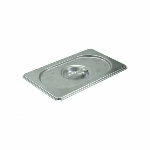 Chef Inox Gastronorm Tray Lid 1/9 Stainless Steel 18/10 Heavy Duty