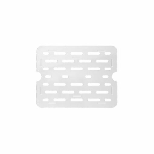 Gastronorm Tray Drain 1/2 Clear Polycarbonate
