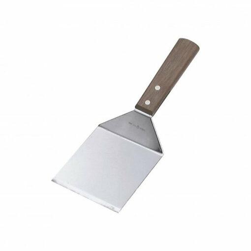 Chef Inox Scraper 95 x 100mm Wooden Handle