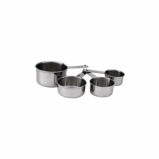 Measuring Cups Stainless Steel 4pc 60-240ml