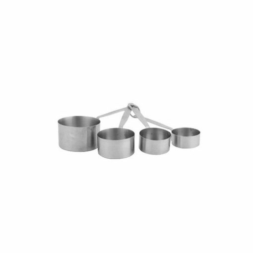 Measuring Cups Stainless Steel 4pc 60-240ml Deluxe