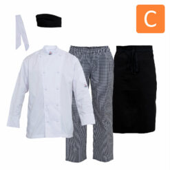 Chef Uniform Package C