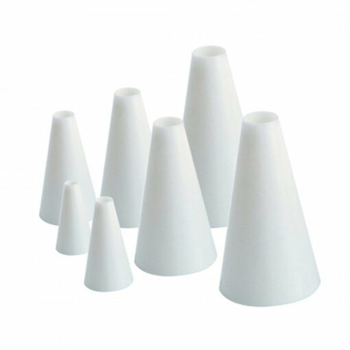 Icing Tube Set 7 Piece Plain