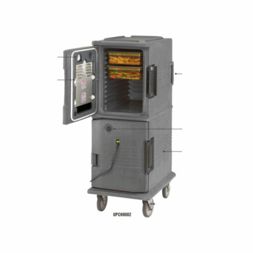 Hot Box 8 Tray 2 Doors Heated UPCH8002