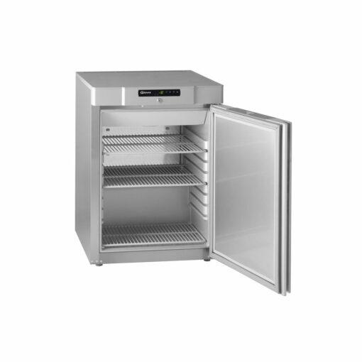 Gram Compact 210 Stainless Steel Solid Door Freezer