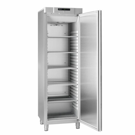Gram Compact 410 Stainless Steel Solid Door Freezer