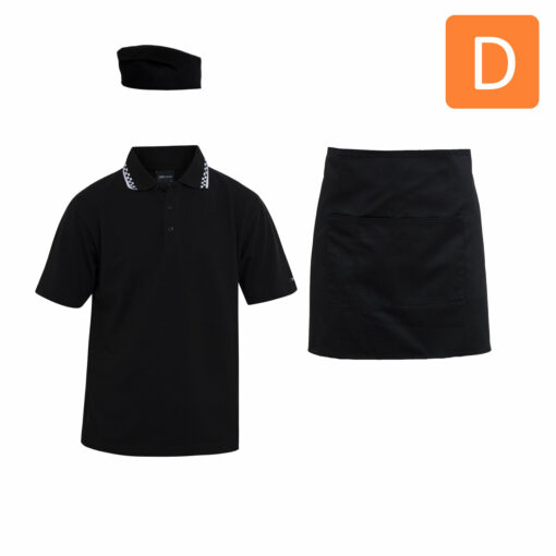 Food & Beverage Uniform Package D