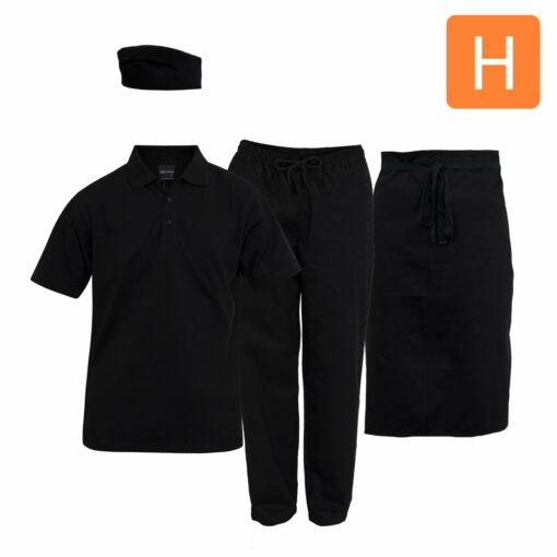 Food & Beverage Uniform Package H