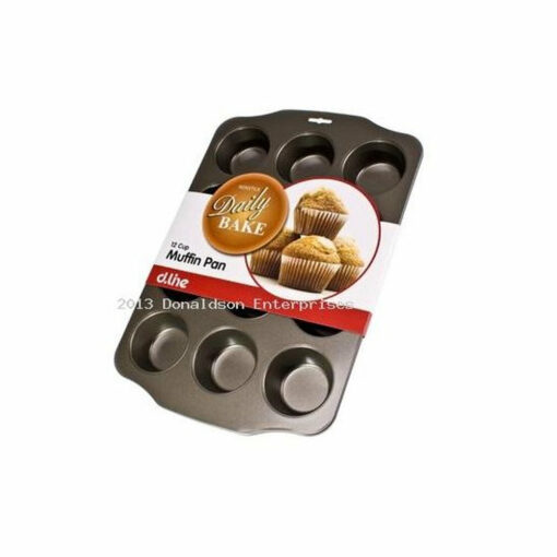 Muffin Pan Tray 12 Cup Non Stick
