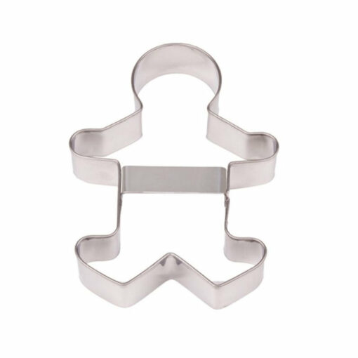 Pastry Cutter Gingerbread Man Stainless Steel 13cm