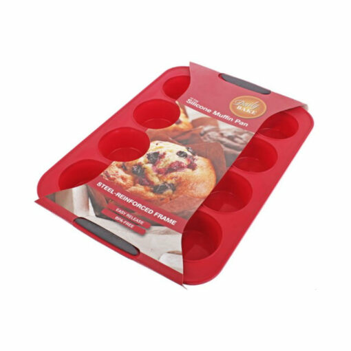 Silicone Muffin Mould 12 Cup