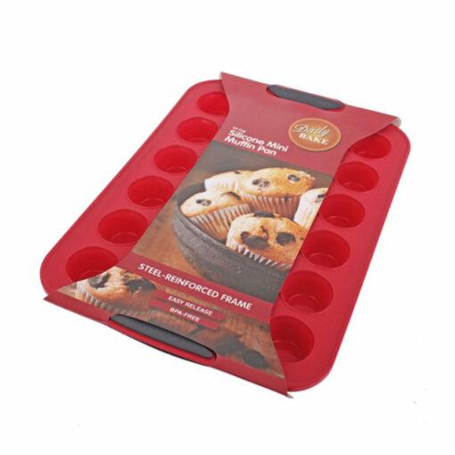 Silicone Mini Muffin Mould 24 Cup