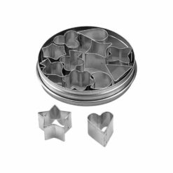 Pastry Cutter Set Aspic Tin 12 Piece 20mm