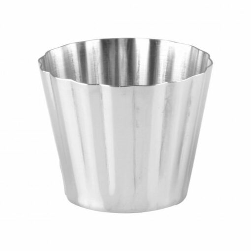 Dariol Mould Stainless Steel Fluted 67 x 56