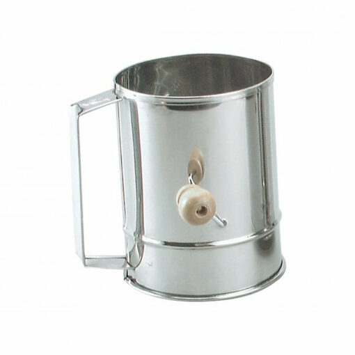 Flour Sifter 5 Cup Stainless Steel Heavy Duty