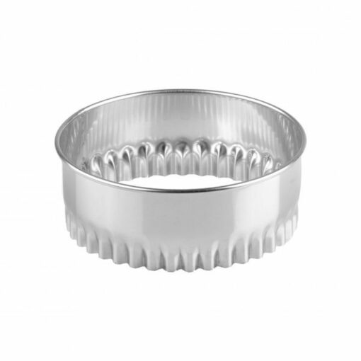 Pastry Cutters Crinkled Stainless Steel