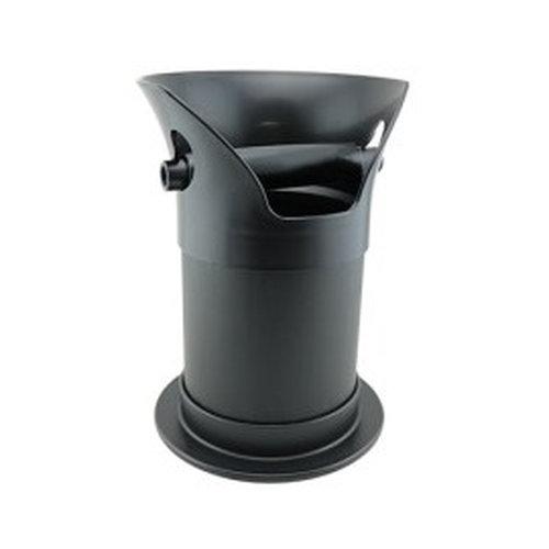 Coffee Knocker Tube Black Bench