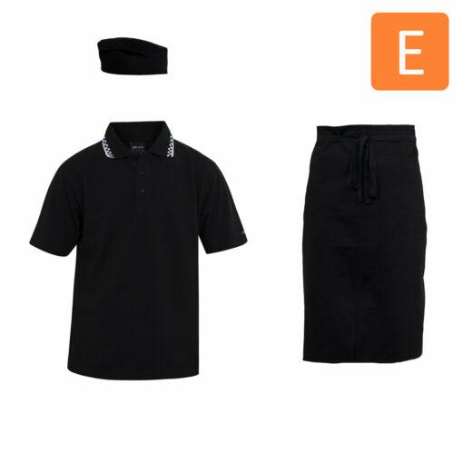 Food & Beverage Uniform Package E