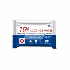 JianHe 75% alcohol Wipes 10 Pack