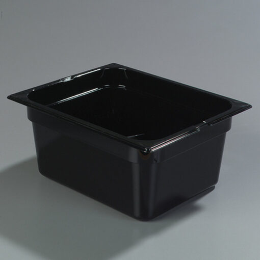 Gastronorm Tray 1/2 Polycarbonate Black