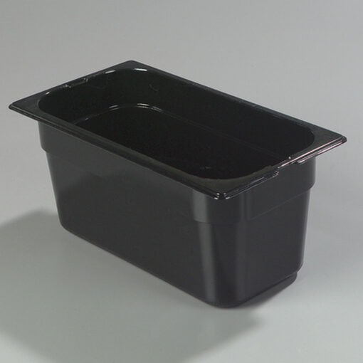 Gastronorm Tray 1/3 Polycarbonate Black