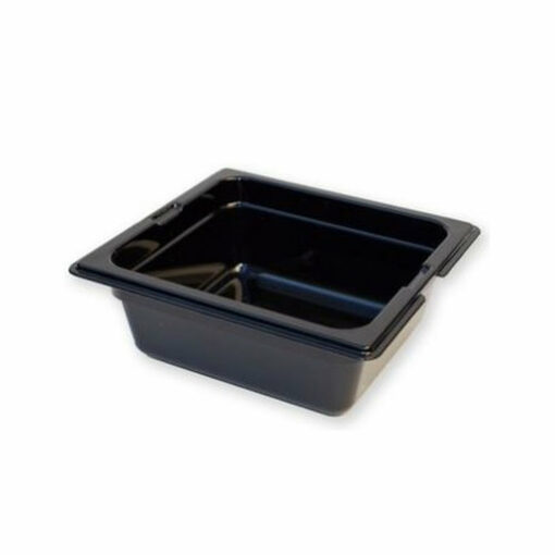 Gastronorm Tray 1/6 Polycarbonate Black