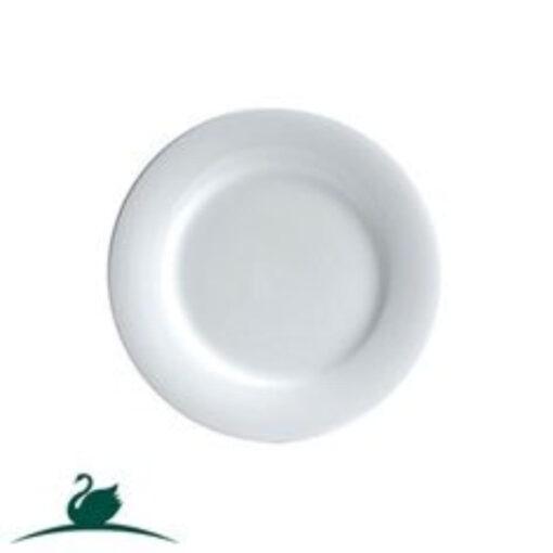 Fine Plate Round Side -160mm