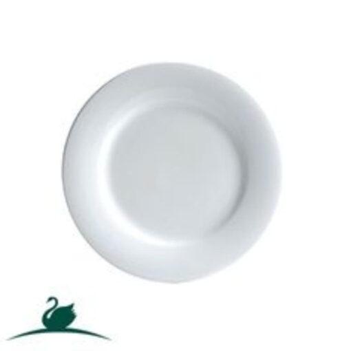 Fine Plate Round Side -185mm