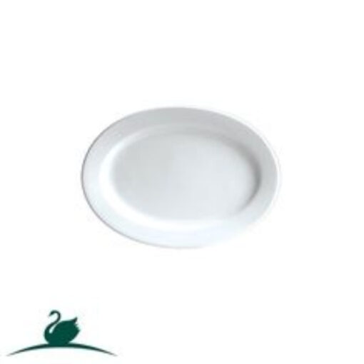 Fine Plate Oval -235 X 170mm