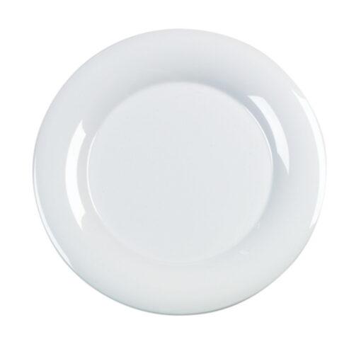 Platter Round White Melamine 47.5cm