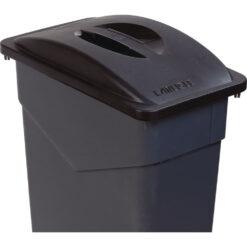 Trimline Waste Container LID 87L Black