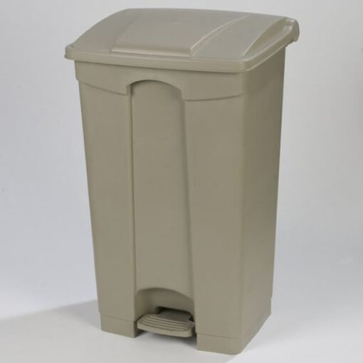 Step On Waste Container 87L Beige
