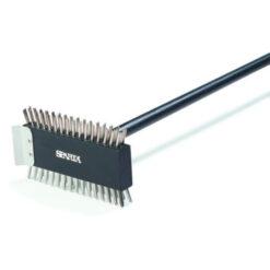 Carlisle SPARTA® Broiler Master with Stainless steel wire bristles & scraper