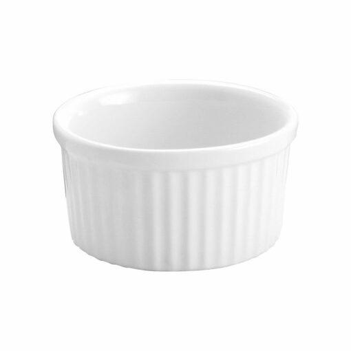 Souffle Dish -100mm/250ml Wh (ea)