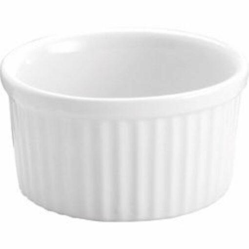 Souffle Dish -175mm/1.0lt White (dz)