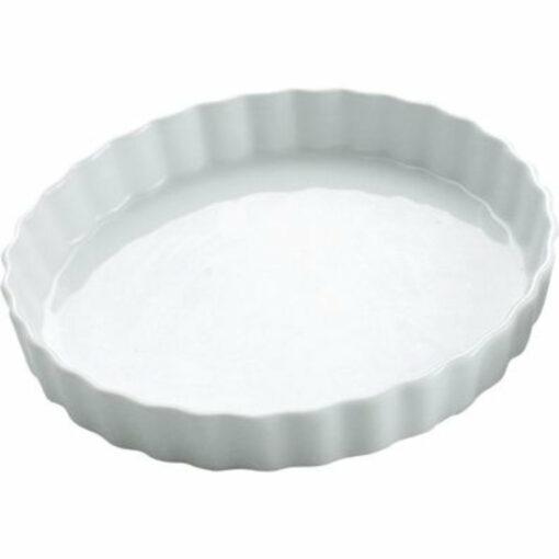 Quiche Pan -250mm White (ea)
