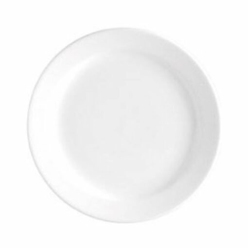 Plate Round -180mm NR White (ea)