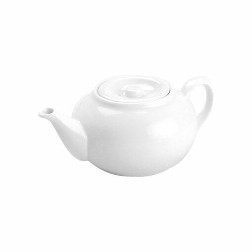 Teapot- 5 Cup White (ea)