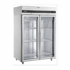Inomak UFI2140G S/S 2 Glass Door Freezer